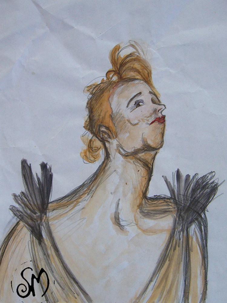 Sara Marcon disegno