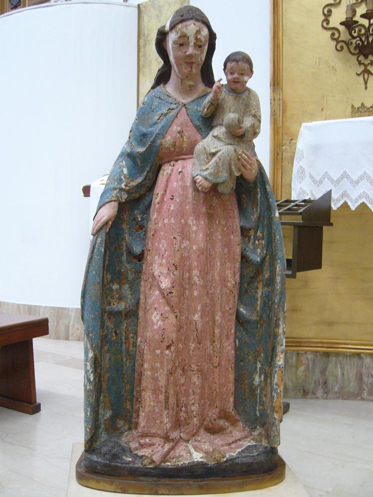 sara_marcon_restauro_statua_madonna_3